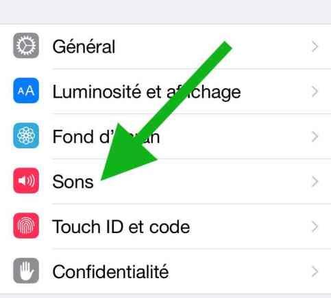 Désactiver les bruits du clavier (iPad, iPhone, iPod)1