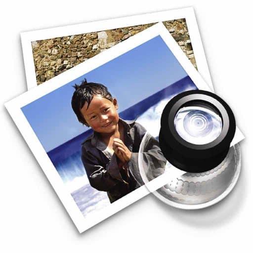 Retoucher une photo avec aperçu sur Mac