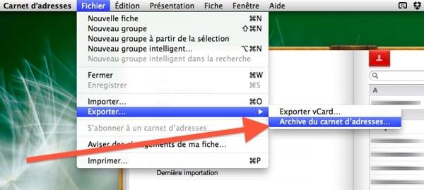synchroniser carnet dadresse iphone avec mac
