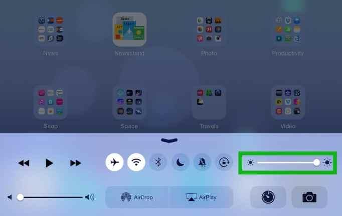 Comment modifier la luminosité de l'écran de l'ipad2