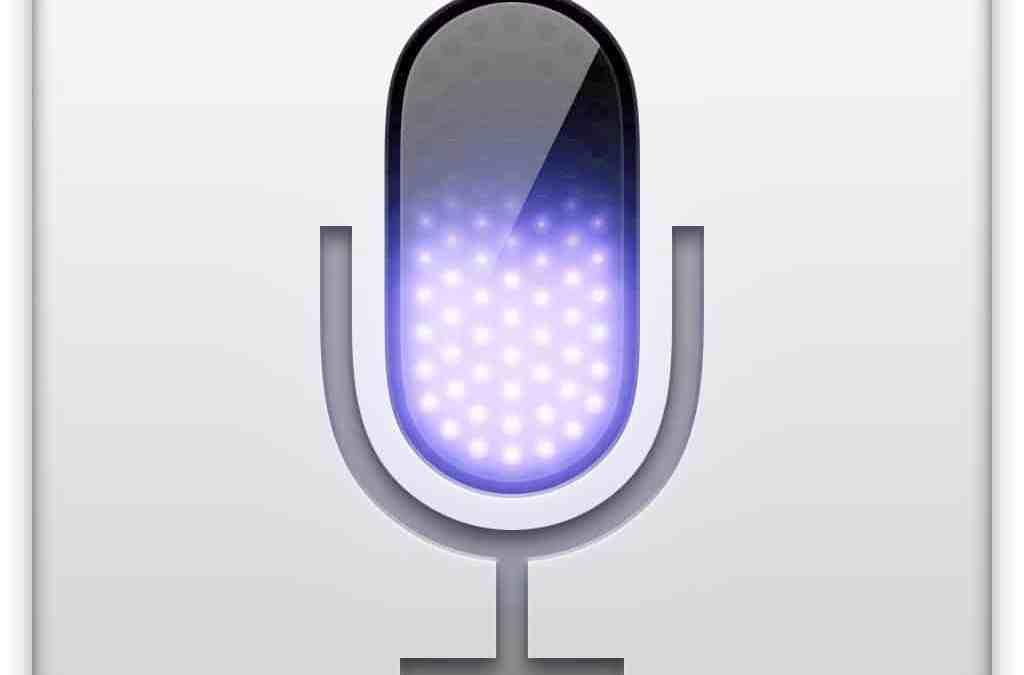 La dictée vocale d'OS X
