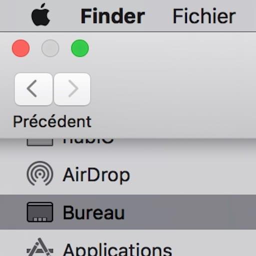 Mode plein écran sur Mac