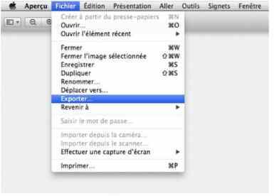 Changer le format de capture d'écran par défaut sur votre Mac 1ok