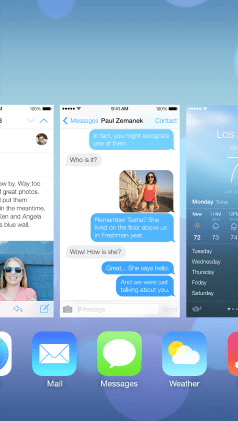 iOS 7 multitask 1