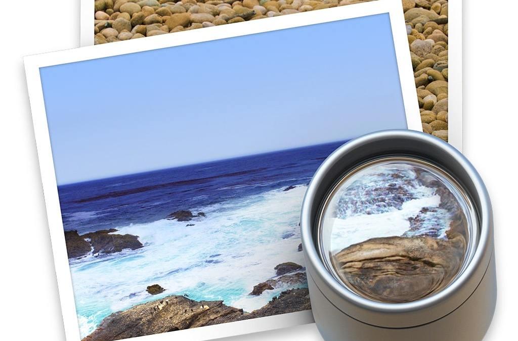 Recadrer une photo au format carré sur Mac