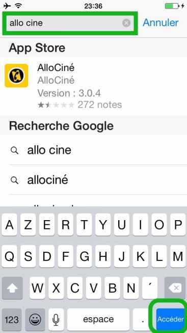 Comment faire une recherche internet sur plusieurs pages sur l'iphone10