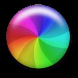 roue colorée mac
