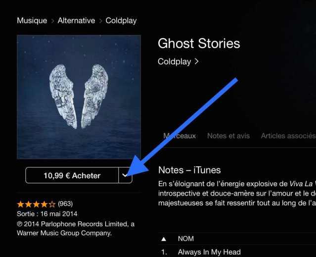 Offrir un cadeau sur iTunes Store 4