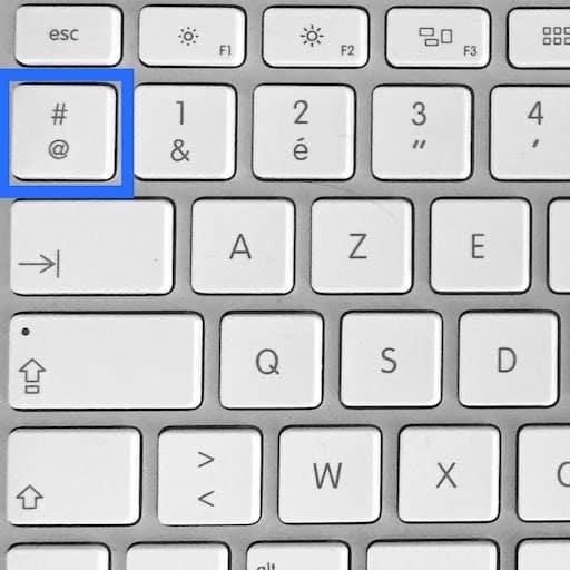 La touche Arobase sur Mac   YouTips