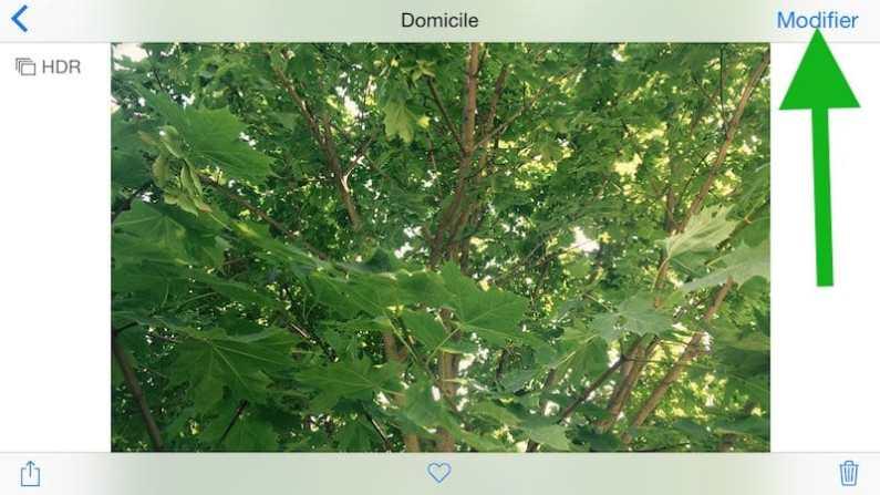 Comparez votre photo iPhone modifiée avec l'originale2
