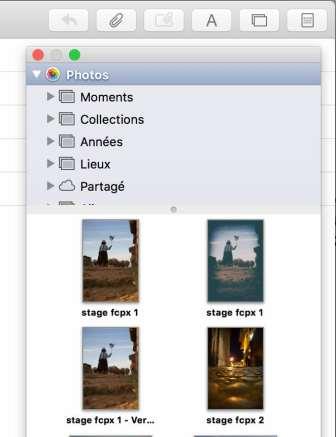 7Rendre votre Photothèque Photos accessible depuis d'autres applications