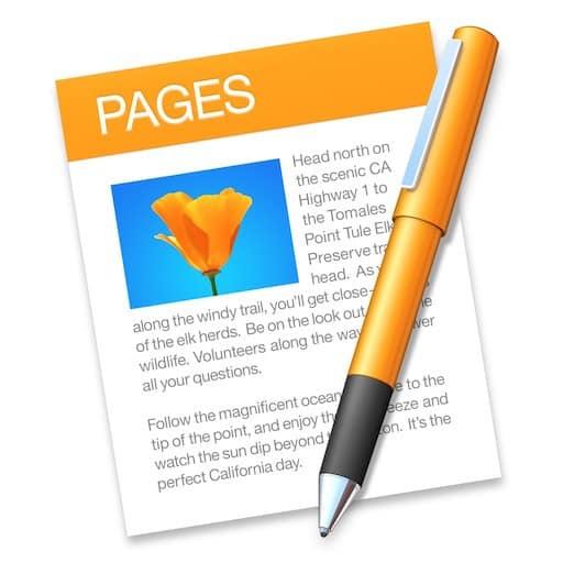 Intégrer une photo dans le logiciel de traitement de texte d'Apple Pages