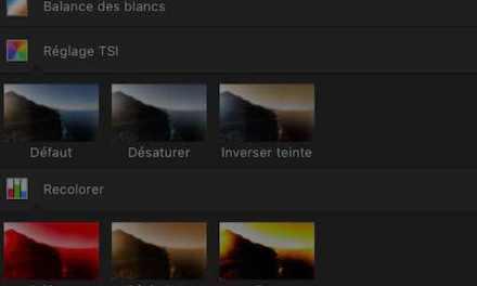 Réinitialiser les palettes d'outils d'Affinity Photos sur Mac