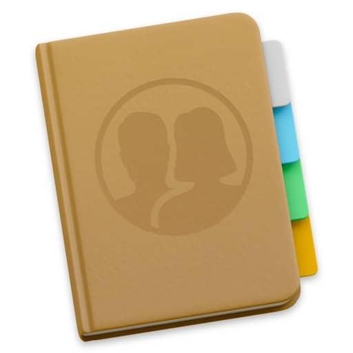 Centraliser tous vos contacts dans l'application Contacts de votre Mac