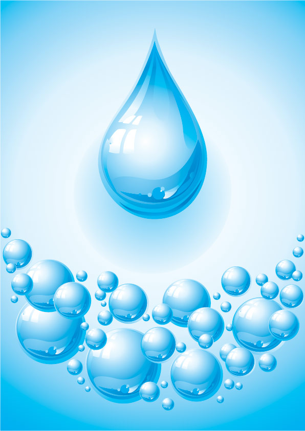 Texture Water Droplets Bubble Vector MaterialDownload Free Vector3d ModelIcon Youtoartcom