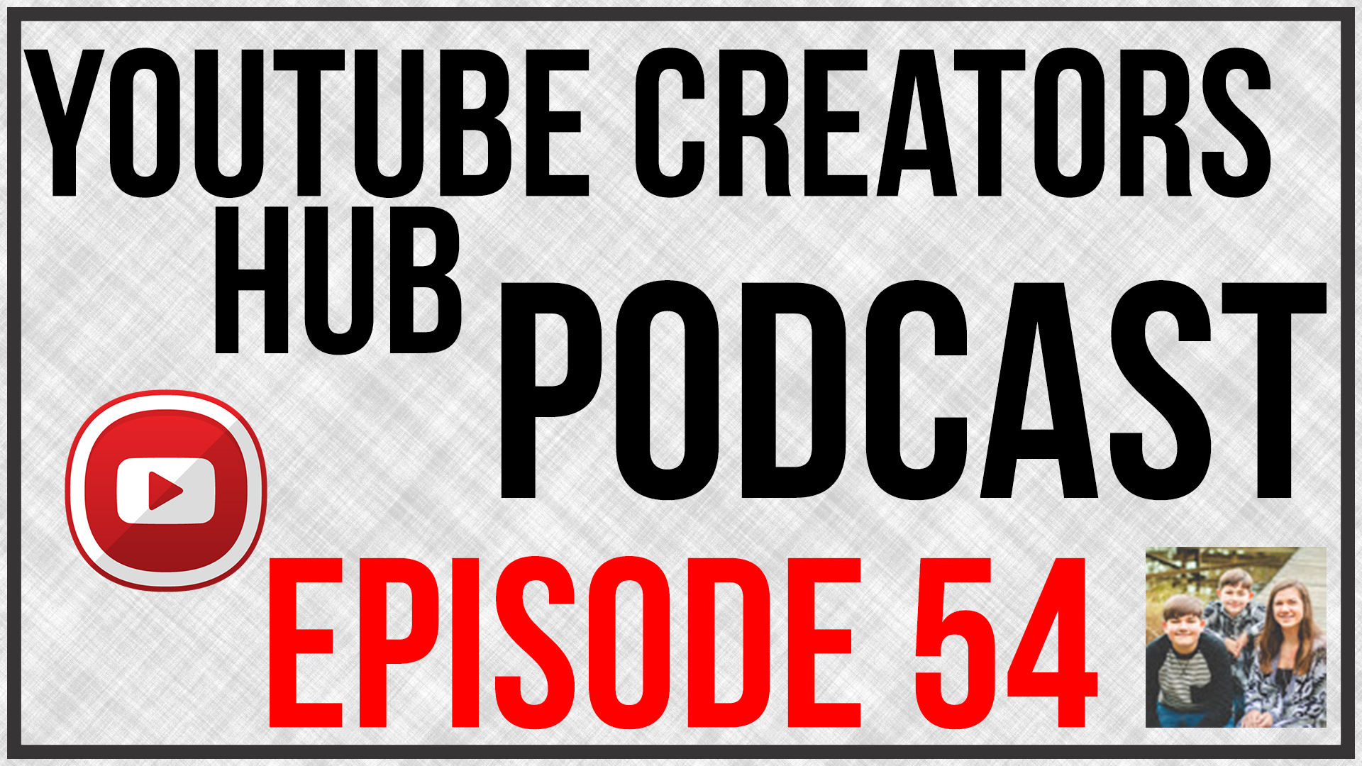YouTube Creators Hub Podcast Episode 054