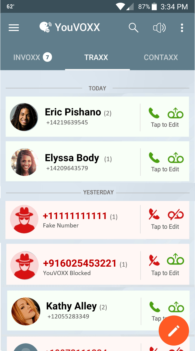 BLOCK ROBOCALLERS & VOICEMAIL SPAM