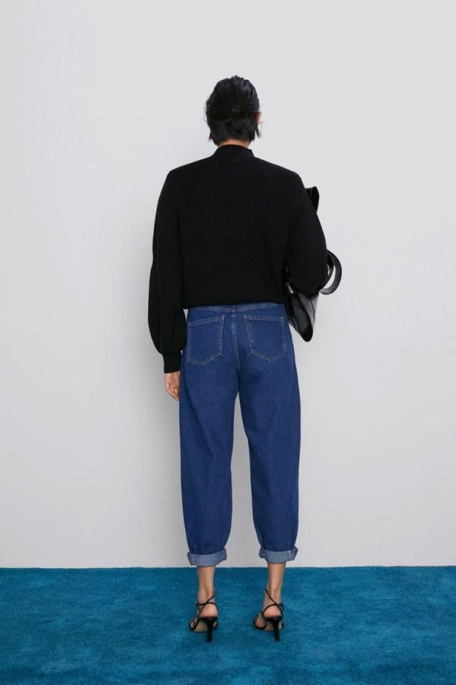 Zara τζιν παντελόνι
