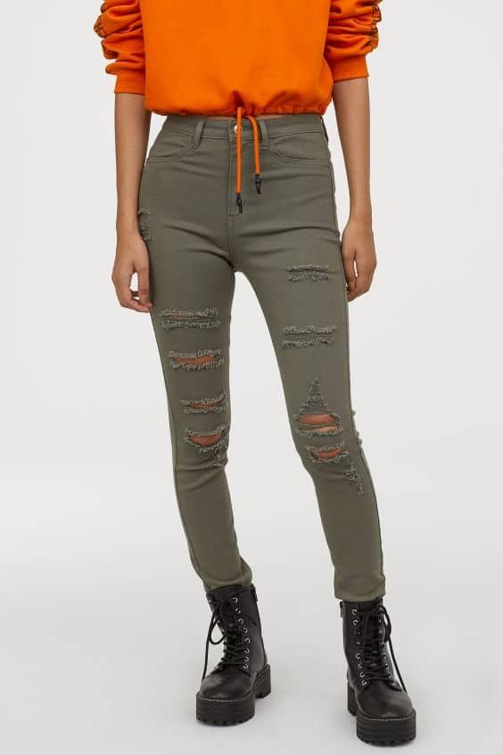 χακί παντελόνι