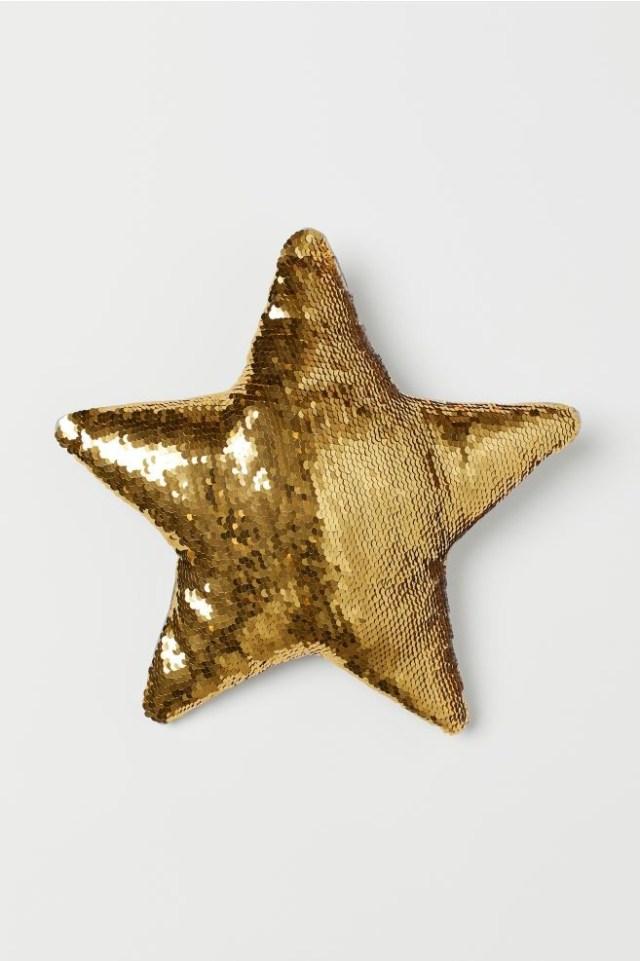 Μαξιλάρι αστέρι παγέτα