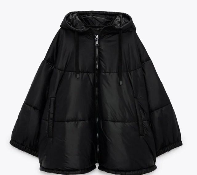 Zara κάπα μπουφάν