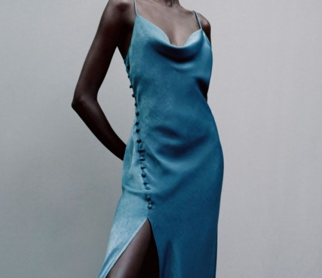 Zara φόρεμα coming soon νέας συλλογής