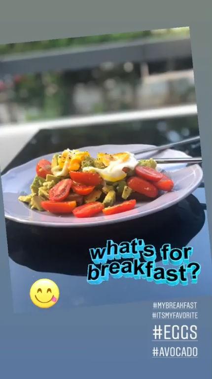 Βάσω Λασκαράκη διατροφή κιλά πρωινό