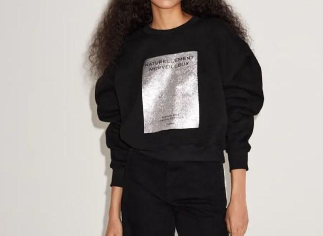 Zara μαύρα μπλουζάκια