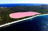 Pembe Göl: Hillier Gölü
