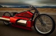 Jet Motoruyla Bisiklet Süren Çılgın Genç