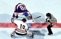 Buz Hokeyi Maçında İnanılmaz Hareket