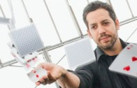 David Blaine And Erno Rubik Visit The Empire State Building