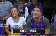 Kiss Cam'de İlginç Anlar