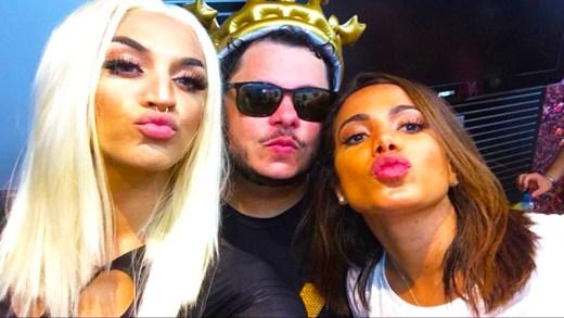Anitta & Pabllo Vittar çölde seksi klip sua cara