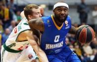 Euroleague'de 2. Haftada  Khimki Moskova Region, Zalgiris Kaunas'ı 85 – 77 Yendi