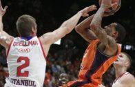 Valencia Basket – Anadolu Efes Maçını İspanyol Ekip Kazandı