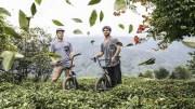 Sergio Layos ve Arif Gül'den Çay Tarlalarında Bisiklet Şov!