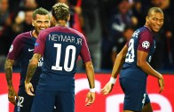 Neymar ve Dani Alves'ten Harika Kafa Tenisi