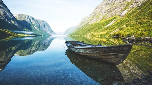 muhteşem norveç manzaraları