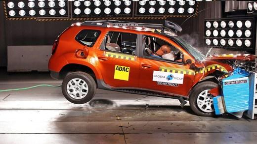 2018 Dacia duster EuroNCAP testleri