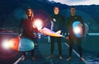 İsviçre'de Gece Sporu Bir Başka!