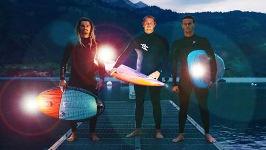İsviçre'de ekstrem gece sporları