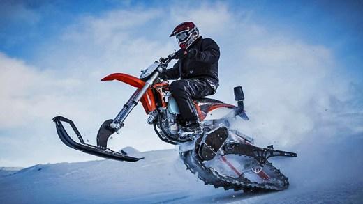 kar motosikleti sürüş deneyimi