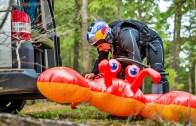 Şişme Yengeç ile Rafting