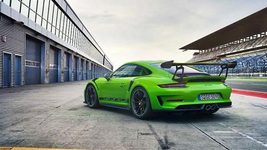 Porsche 911 GT3 RS kar testi