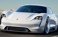 Porsche'un Mission E'si 2019'da Yollarda