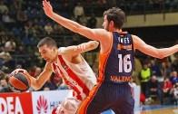 EuroLeague 26. Randevular Crvena Zvezda: 106 – 90 :Valencia Basket