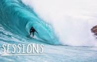 Avustralya'daki Sörfçüler Dalgalarla Dans Ediyor