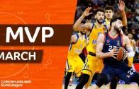 Euroleague Mart Ayı MVP'si Belli Oldu