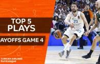 Euroleague Play Off 4. Maçlar En iyi 5 Hareket
